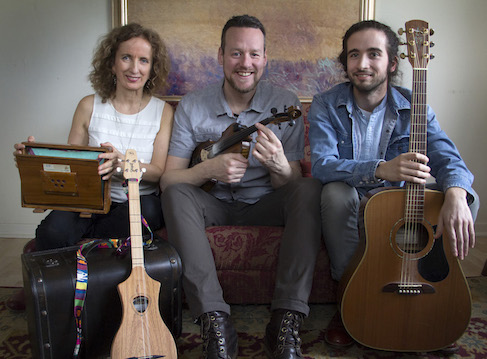 Celtic trio Backroads with Teresa Doyle, Ward MacDonald and Patrick Bunston