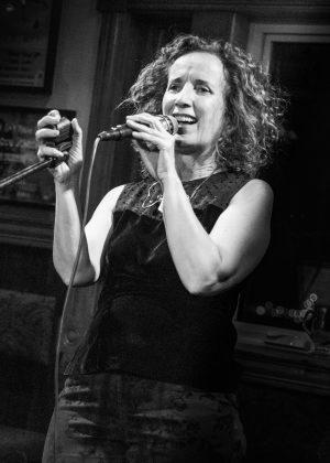 Teresa performing live (credit Jing Cui)